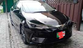 Toyota Corolla Altis Grande 2019 available for rent