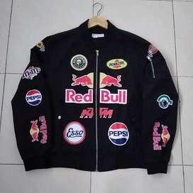Jaket Vintage Pria Redbull Tag Korea / Jaket Bomber Vintage