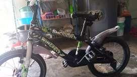 sepeda wim cycle ukuran 16 untuk anak usia 5-8 tahun