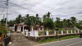 Jual Tanah & Rumah Pasar Sijunjung, samping BRI