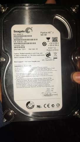Old Hard disk,ram and charger  for laptop and computer