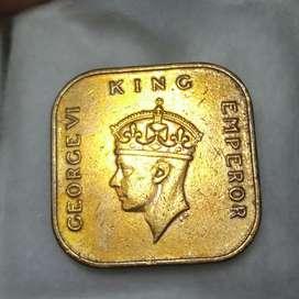 Uang koin kuno th 1939
