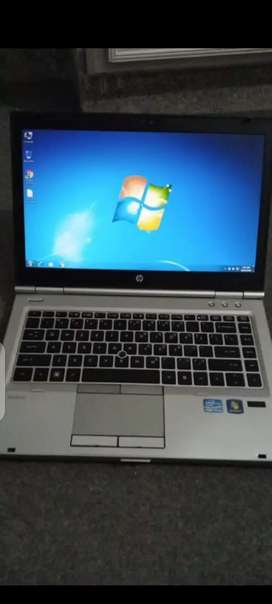 Hp 8460p i5 2nd gen 4GB RAM 240 GB SSD WITH 8 MONTHS WARRANTY