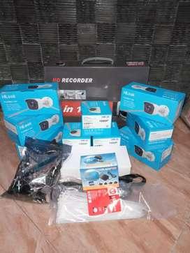 Paket Kamera Cctv 2mp komplit