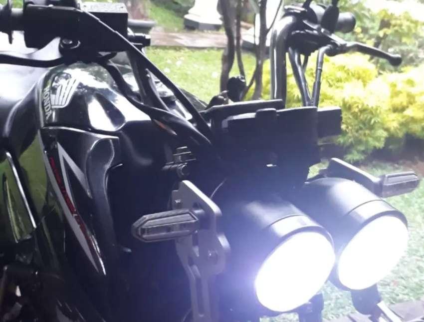 Lampu Double dan spedo Digital Tiger 0