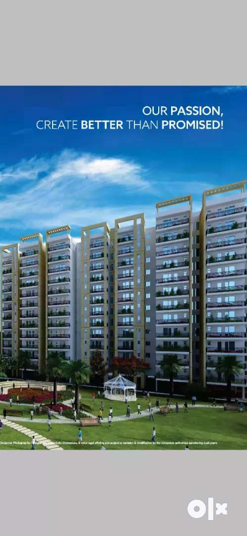 3bhk flat on sohna road at just 23.50 Lac 0