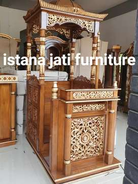 Mimbar masjid khutbah masjid mimbar minimalis modern