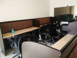 Furnished 1100 sqf office space on 3rd floor in  phase-8B, Mohali