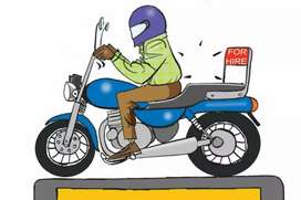 Wanted bike taxi driver for khammam