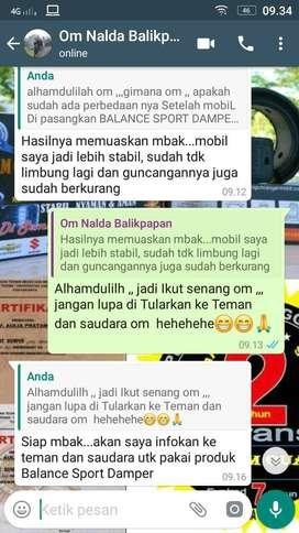 Redam Oleng Mobil Yg Bergaransi 2 THN merk BALANCE DAMPER