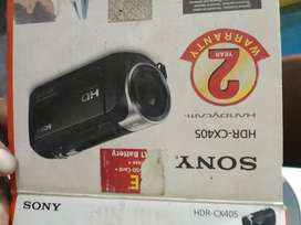 Sony HDRCX405 9.2MP HD Handycam Camcorder with Free Carrying Case