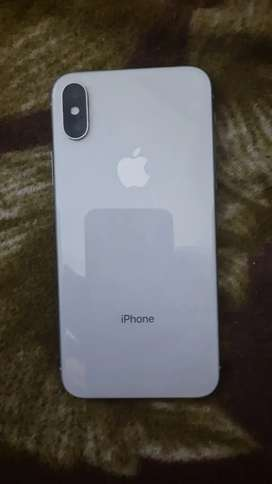 Iphone x, 1 year old, 64gb, with bill and box and orignal charger