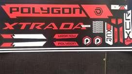 Stiker polygon xtrada 6