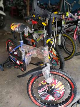 Sepeda Anak Cowo Ukuran 18
