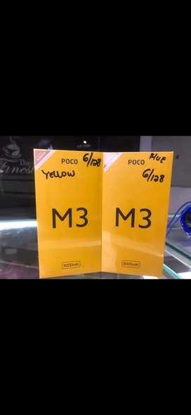 Xiomi M3 6/128 GB Garansi Resmi