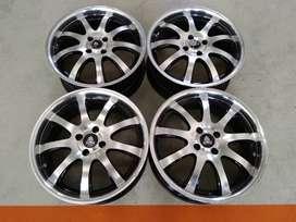 Tersedia Velg seken Type Modelart Ring 17x7,5  H:4x100 ET:45 , Monggo