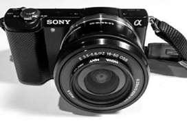 Dijual murah Sony A5000 Kondisi Bagus, BU