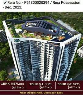 Nice project at Goregaon east near oberoi mall