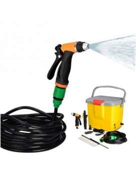 Car Pressure Washer no means stand on a ladder for cleansing the pinna