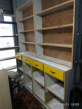 Wooden Rack with Drawer  made from hard plywood for sale