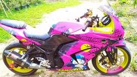 Ninja 250R carbu