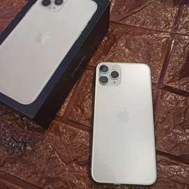 Iphone 11 pro 64gb silver fullset