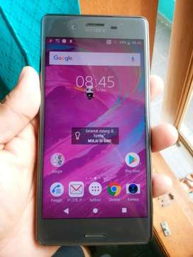 SONY XPERIA X PERFORMANCE ram 3gb internal 32gb sinyal 4G lte 5 in
