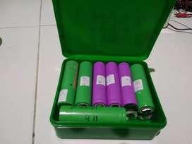 Baterai 18650 bekas