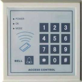 RFID Sistem Akses Kontrol Pintu Kayu Set Kit + Eletrik Kunci Magnetik