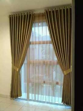 Minimalis Vitrase Gordeng Hordeng Gorden Curtain Gordyn Korden 695