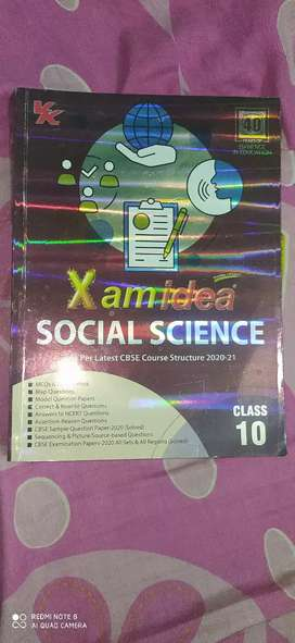 Xam idea(Social science)class 10