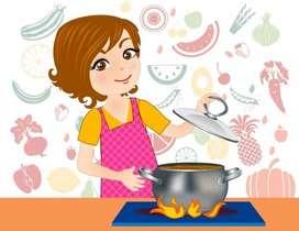 menyediakan jasa untuk memasak,  titip anak atau beres beres rumah