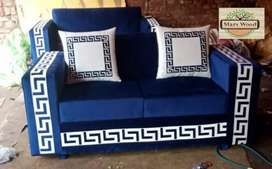 Versache sofa 6 seater L shape 15 year gaurantee
