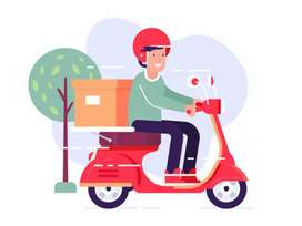 Delivery jobs any product gift items parcel documents