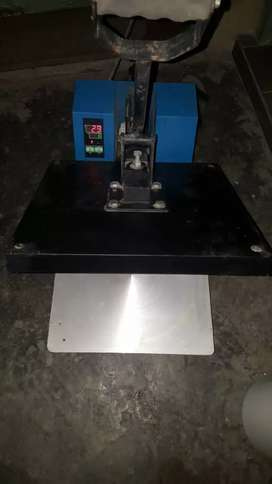 Printing machine one time use good condition