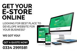 E-Commerce website design, Ecommerce website development services