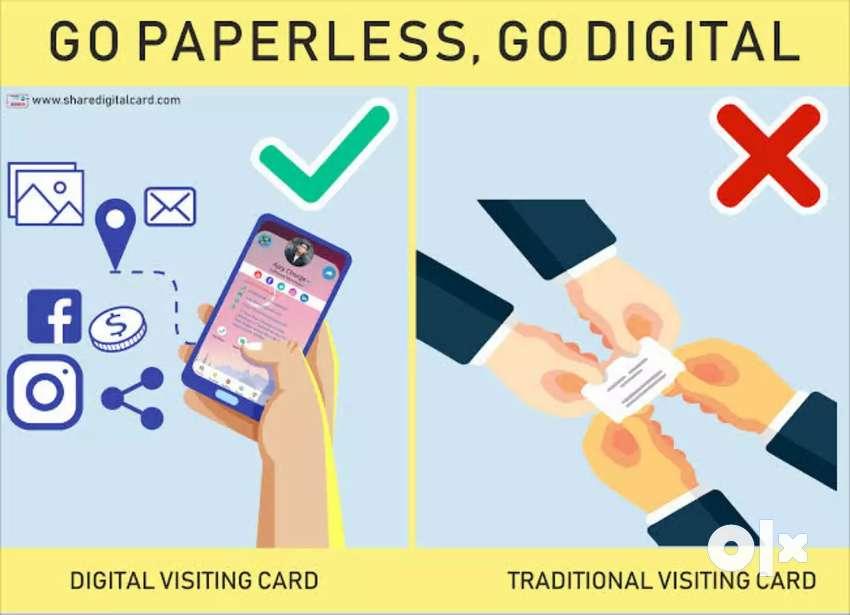 Digital visiting card 0