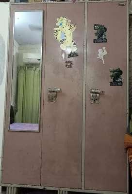 Wardrobe Metal 3 door