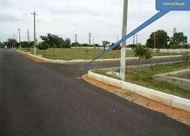 GATED COMMUNITY PLOT, 100meters to ORR, in Tukkuguda