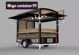 Modifikasi booth food truck modern modifikasi booth food court ,