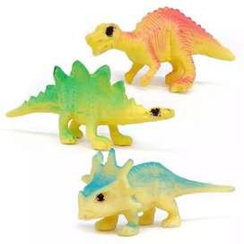 9 pcs kado anak Dinosaurus