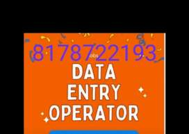 Data entry typing online part time work from home