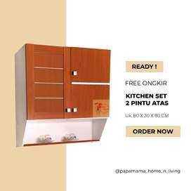 Kitchen Set Atas 3 Pintu - Lemari Piring Gantung by Toppan - Medan