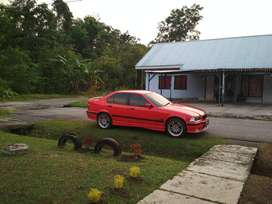 BMW E36 318i M43 Th.1997 Red on Red