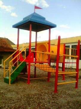 Jual playground tipe outdoor, playground model outdoor