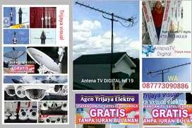 pasang ANTENA TV digital HD19 ll Antena TV full alumunium awet