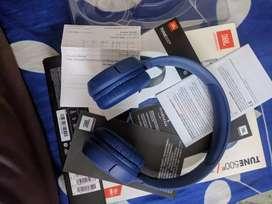 JBL TUNE 500BT BLUE HEADPHONE