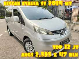 Nissan Evalia SV Up XV 2014 Manual TDP Angs Murah