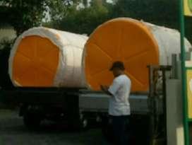 Tandon 2000 liter purworejo merk new88 bahan plastik bisa buat minyak
