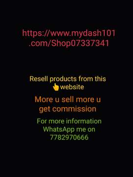 Resell products